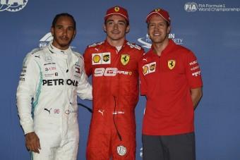 F1: Örömmámorban úszik Leclerc a váratlan pole után