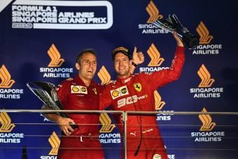 Vettel: Erőt adtak a rajongóim