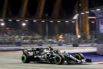 F1: Hamiltonra panaszkodott Bottas az időmérő után