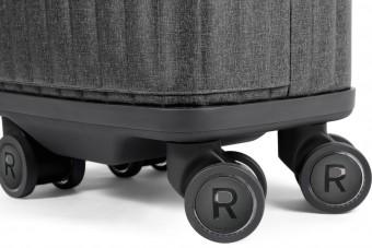 Hasznos funkciót rejt kerekeiben ez a bőrönd