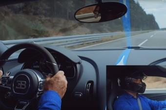 Ahogy a Bugatti Chiron Sport eléri a 423 (és 490) km/órát, az földöntúli