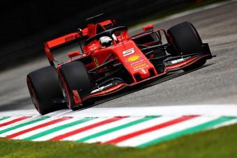 F1: Vettel a leggyorsabb az időmérő előtt