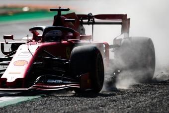 F1: Még negyedik rajthelyét is elbukhatja Vettel