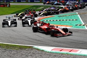 F1: Leclerc visszaverte a Mercedest Monzában