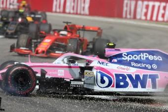 F1: Váratlan helyről kapott védelmet Vettel