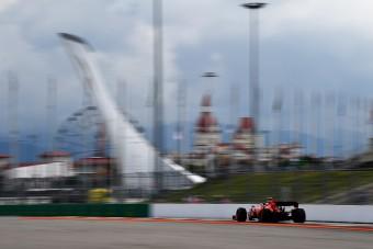 F1: Előnyben a Ferrari az orosz időmérő előtt
