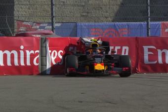 F1: Összetörte Red Bullját az újonc - videó