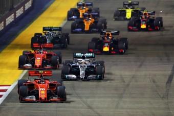 F1: Lefújják a Szingapúri Nagydíjat