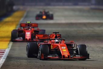 F1: Vettel nyert Szingapúrban, megtört az átok