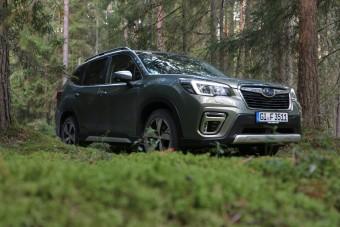 A Subaru is elindult a villamosítás útján