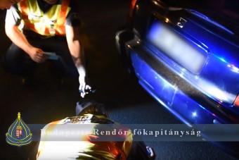 20 forgalmi ugrott - Ismét lecsaptak a rendőrök a pesti illegális versenyzőkre