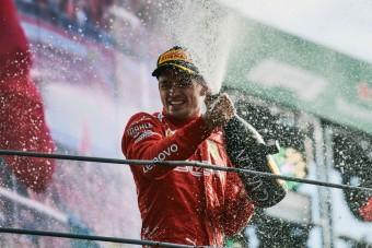 F1: Leclerc a monacói herceg vendége volt