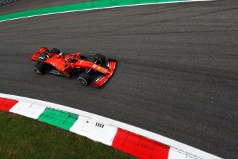 F1: Leclerc-é az első edzésnap Monzában