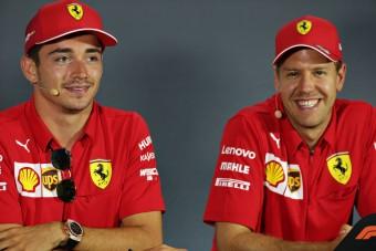 F1: Vettelt nem lepte meg Leclerc