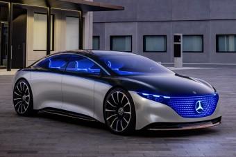 Mercedes-Benz Vision EQS: Tele van csillagokkal