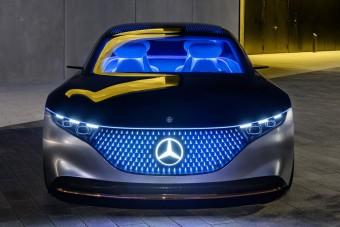 Mercedes-Benz Vision EQS: gyári videók
