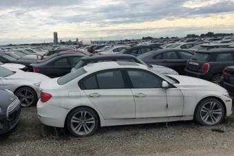 Vadiúj BMW-k pusztulnak ezen a roncstelepen