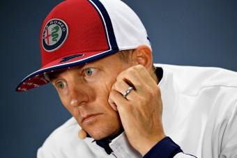 F1: Räikkönen sem gondolta, hogy eddig marad