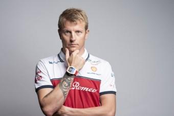 320 milliót hord a csuklóján Räikkönen