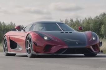 Gyors a Bugatti, de mi sokkal keményebbek vagyunk, üzente a Koenigsegg és megdöntötték a 0-400-0 rekordját