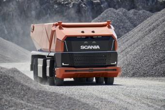 Sofőr nélküli dömpert mutatott be a Scania