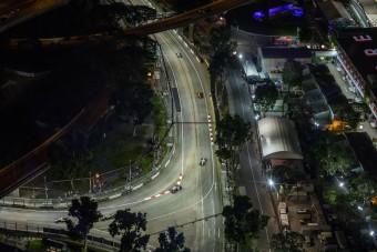 F1: Újabb előzési zóna Szingapúrban