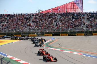 F1: Az Orosz Nagydíjra beengedik a nézőket