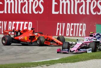 F1: Ezért kapott Vettel keményebb büntetést