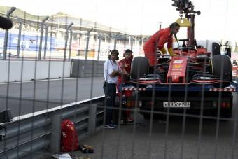 F1: Így csinálta ki Leclerc futamát is a Ferrari