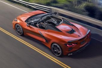 Keménytetős lett a Corvette kabrió