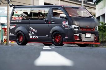 Toyota-kisbusz 600 lóerővel
