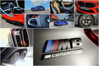 Több száz új fotón a BMW M8 Competition