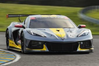 Már versenyautó is készült az új Corvette-ből
