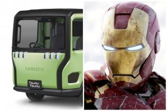 Zseniális a Vasember-arcú mikro-teherautó
