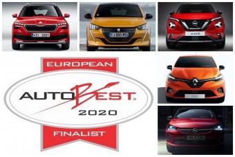 Európa legjobb vétele nem családi autó