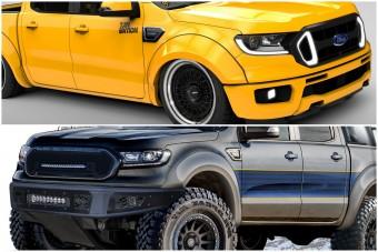 Pickup-átépítések a sportautótól az expedíciós járműig