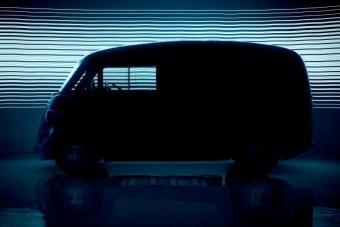 Villanyautóként születik újra a vénséges furgon