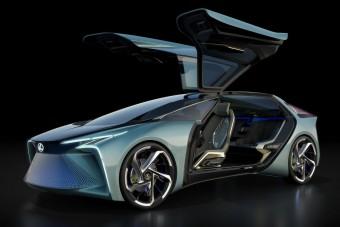 Gyeplővel irányítható a Lexus vadonatúj tanulmányautója