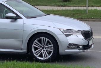 Szinte álca nélkül mutatkozik az új Škoda Octavia