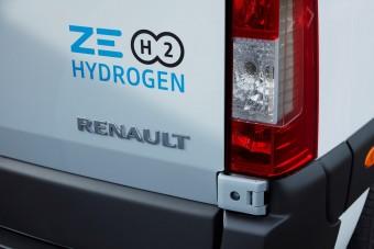 Jönnek a hidrogénhajtású Renault furgonok