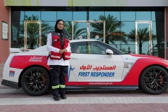Villámgyors mentőautók mentenek életet Dubajban