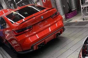 Gyártósoron villant meg az új M3-as BMW