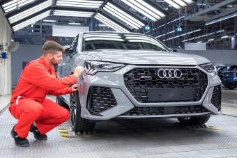 Új sport-Audik gyártása indult el Győrben