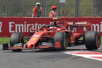 F1: Leclerc értetlenül áll a taktika előtt