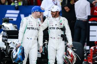F1: Bottas magát okolja Hamilton meglógásáért