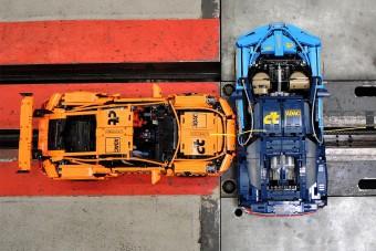 Fájdalmasan gyönyörű a Lego-Bugatti és -Porsche töréstesztje