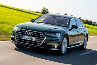 Már az Audi A8 is kapható plug-in hibridként