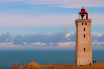 Odébb tolnak Dániában egy 120 éves világítótornyot