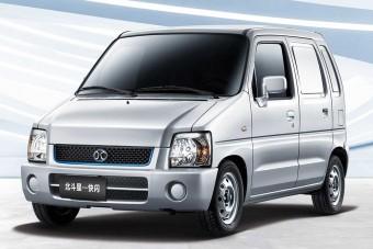 Régi Suzukiból lett új, villanyos furgon Kínában