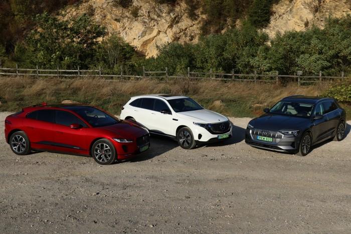 Audi, Jaguar, Mercedes: kié a legjobb villanyautó?